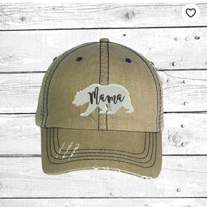 Mama Bear Mesh Back Trucker Hat